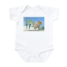 TrexTriceratops Infant Bodysuit