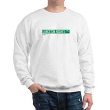 Langston Hughes Place in NY Sweatshirt