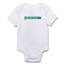Langston Hughes Place in NY Infant Bodysuit
