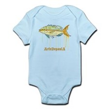 Yellowtail Snapper Fish Infant Bodysuit