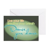 Dance Your Dance Greeting Cards (Pk of 10)
