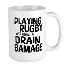Rugby Damage Mug