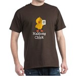 Mahjong Chick Dark T-Shirt