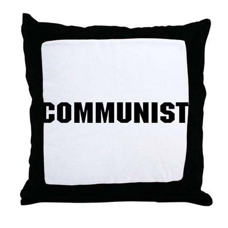 Communist Throw Pillow