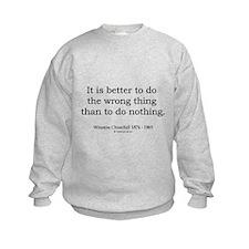 Winston Churchill 13 Sweatshirt