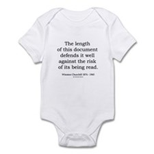 Winston Churchill 18 Infant Bodysuit