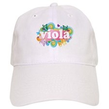 Retro Burst Viola Baseball Cap