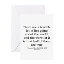 Winston Churchill 19 Greeting Card
