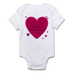 Chinese New Year Infant Bodysuit
