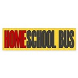 Homeschool Bus 1 Bumper Bumper Sticker