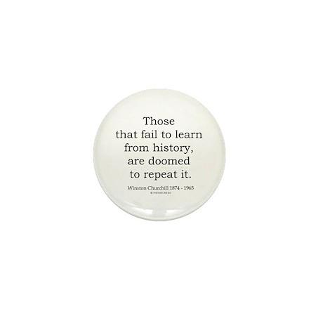 Winston Churchill 20 Mini Button (100 pack)