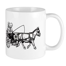Pony and trap Small Mugs