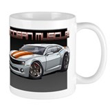 2010 White Camaro Coffee Mug