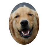 Mickey - Labrador - Photo 5 Oval Ornament