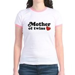 Mother of Twins Jr. Ringer T-Shirt