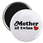 Mother of Twins Magnet