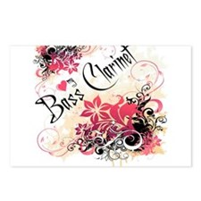 Heart My Bass Clarinet Postcards (Package of 8)
