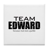 """Team Edward"" Tile Coaster"