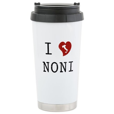 I Love Noni Ceramic Travel Mug