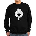 Big Nose Poodle Sweatshirt (dark)