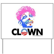 Clown 1 Yard Sign
