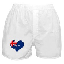 Australia Heart Flag Boxer Shorts
