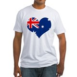 Australia Heart Flag Shirt