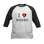 I Love Nonno Kids Baseball Jersey