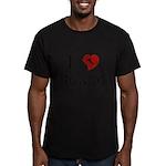 I Love Nonno Men's Fitted T-Shirt (dark)