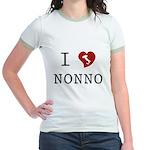 I Love Nonno Jr. Ringer T-Shirt