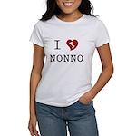 I Love Nonno Women's T-Shirt