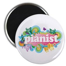 Retro Burst Piano Magnet