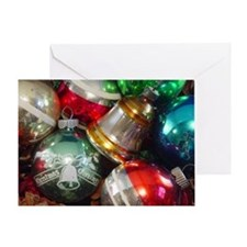 Old Fashioned Ornaments Greeting Card