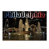 Cute Pennsylvania philadelphia Postcards (Package of 8)
