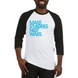 Make S'Mores Not Wars Baseball Jersey