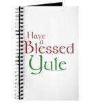 Blessed Yule Journal