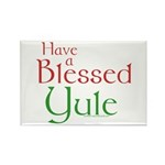 Blessed Yule Rectangle Magnet (100 pack)