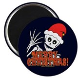 Merry Christmas Skeleton Magnet