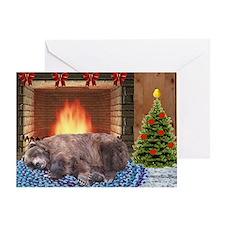 fireside Greeting Card