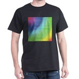 Rainbow Bridge Black T-Shirt