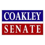 Coakley for Senate bumper sticker