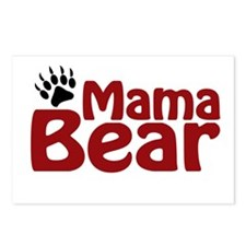 Mama Bear Claw Postcards (Package of 8)