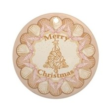 Sea Shell Ornament (Round)