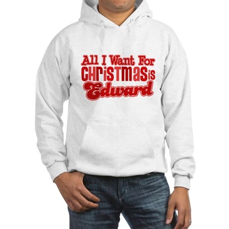 Edward Christmas Hooded Sweatshirt
