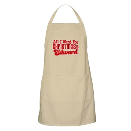 Edward Christmas Apron