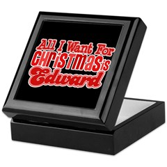 Edward Christmas Keepsake Box
