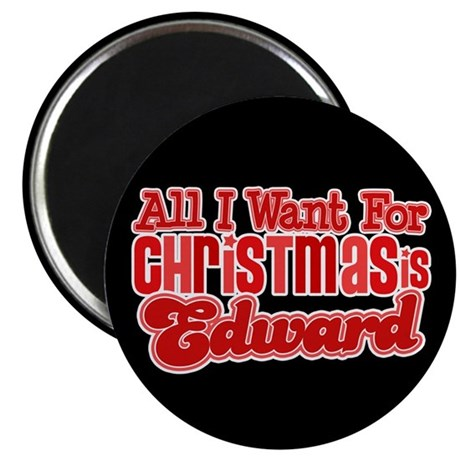 "Edward Christmas 2.25"" Magnet (10 pack)"