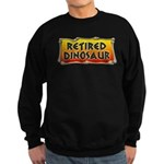 Retired Dinosaur Sweatshirt (dark)