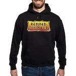 Retired Dinosaur Hoodie (dark)