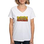 Retired Dinosaur Women's V-Neck T-Shirt